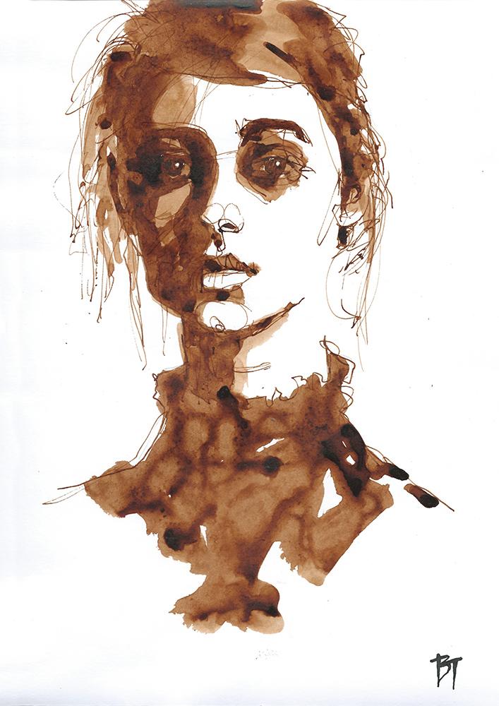 Bert Taken - portrait 019 (paper 21x29,7cm)
