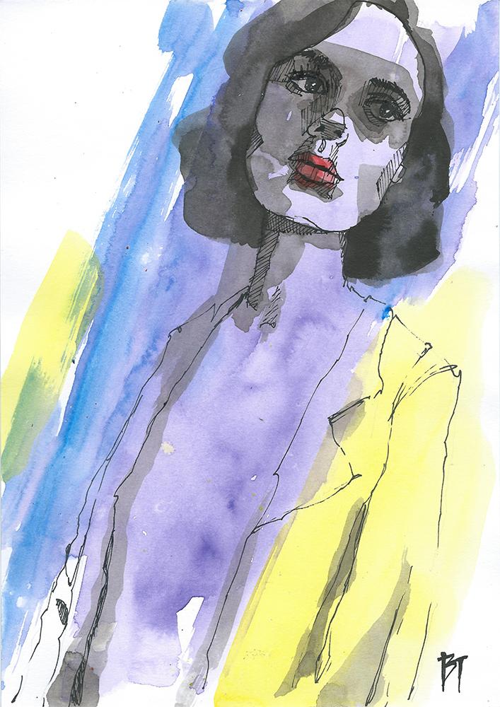 Bert Taken - portrait 027 (paper 21x29,7cm)