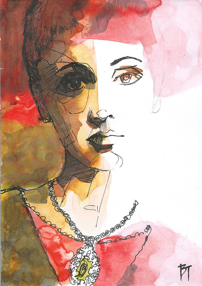 Bert Taken - portrait 029 (paper 21x29,7cm)