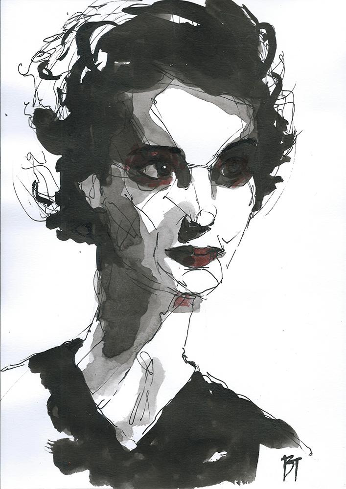 Bert Taken - portrait 030 (paper 21x29,7cm)