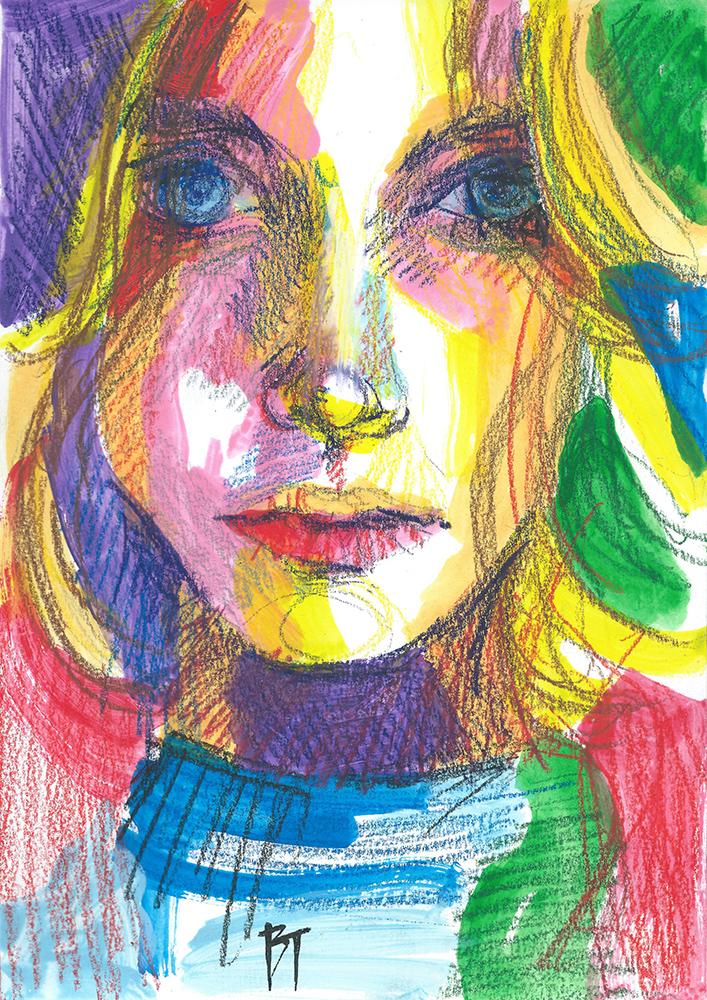 Bert Taken - portrait 038 (paper 21x29,7cm)