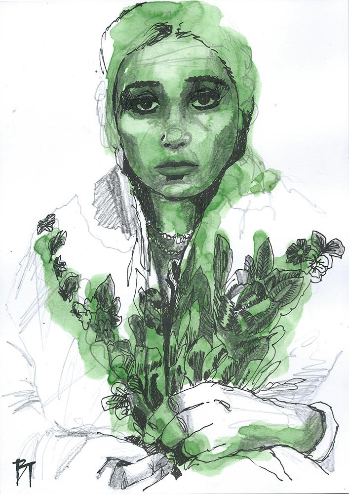 Bert Taken - portrait 044 (paper 21x29,7cm)