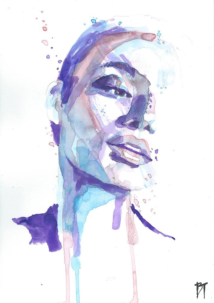 Bert Taken - portrait 051 (paper 21x29,7cm)
