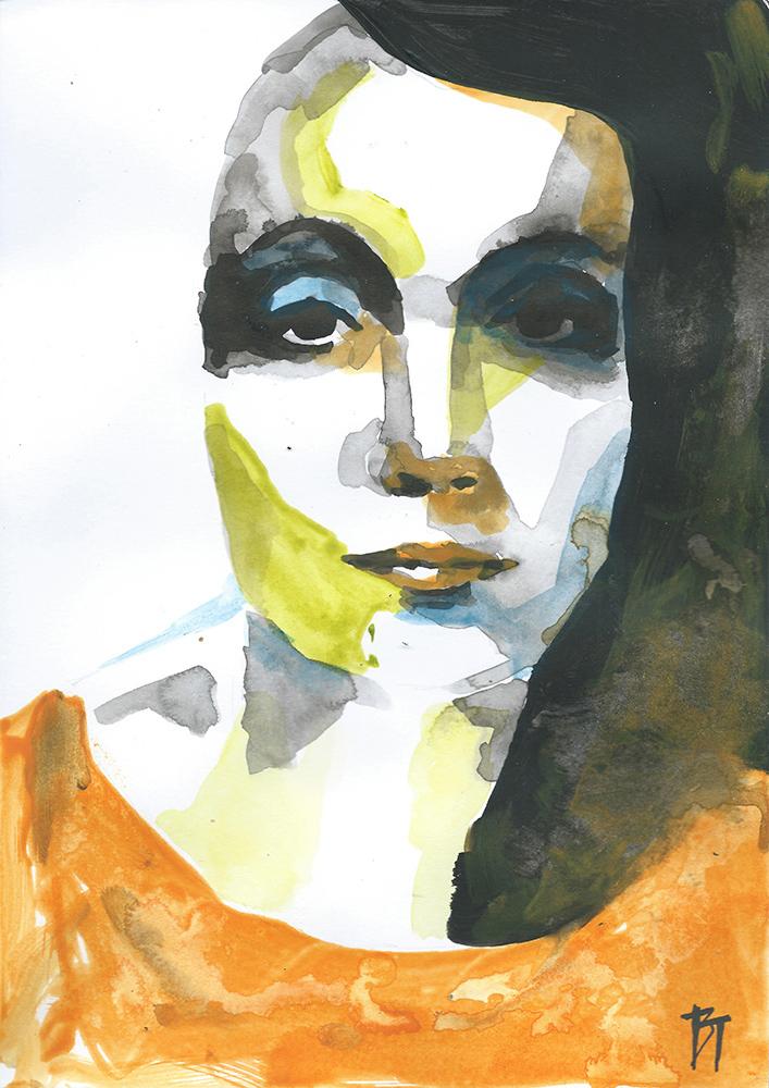 Bert Taken - portrait 065 (paper 21x29,7cm)