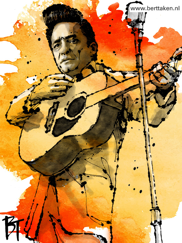 Bert Taken - Johnny Cash