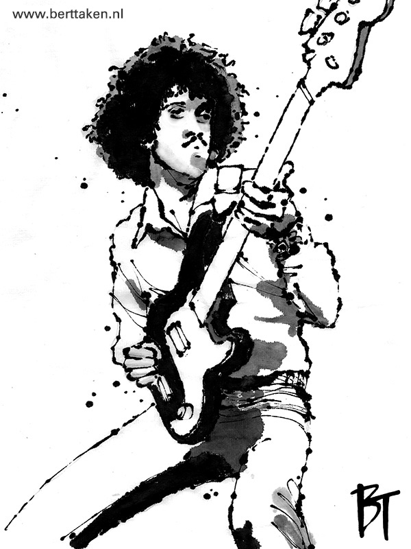 BertTaken - PhilLynott ink