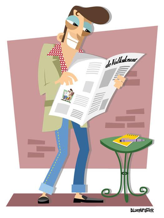 Volkskrant 'Boven De Vouw' illustration2