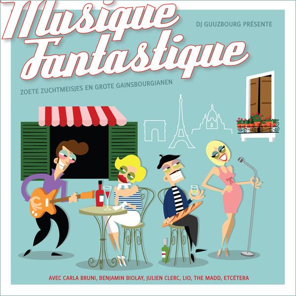 musique fantastique cd cover design