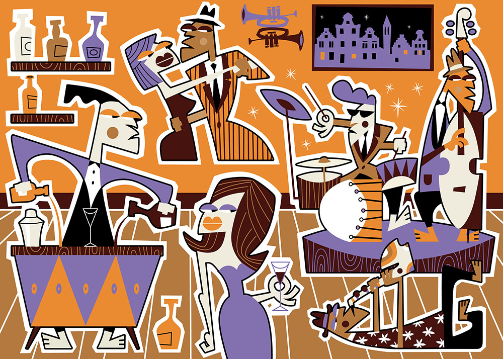 BlueHipster - Jazz Sir, That's My Baby (140x100cm)