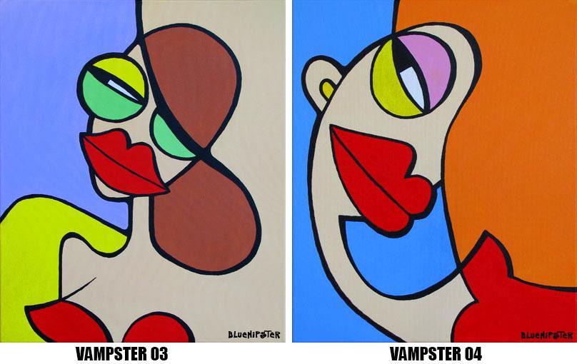 BlueHipster - vampster 03-04 (60x50cm)