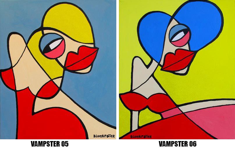 BlueHipster - vampster 05-06 (60x50cm)