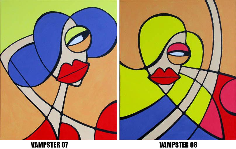 BlueHipster - vampster 07-08 (60x50cm)