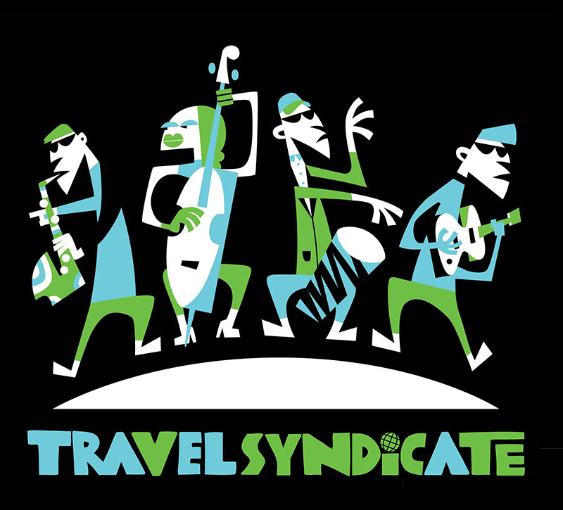 travel syndicate logo banner design