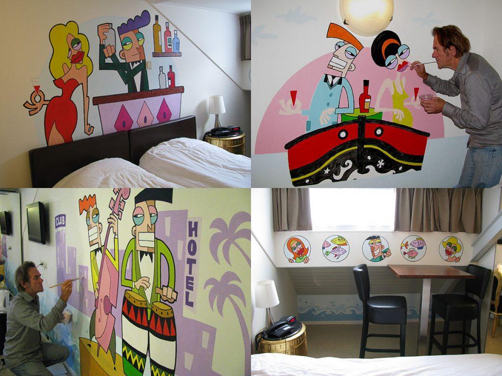 H2OTEL room decoration
